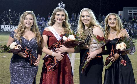 alsup crowned lhs homecoming queen northwest alabamian
