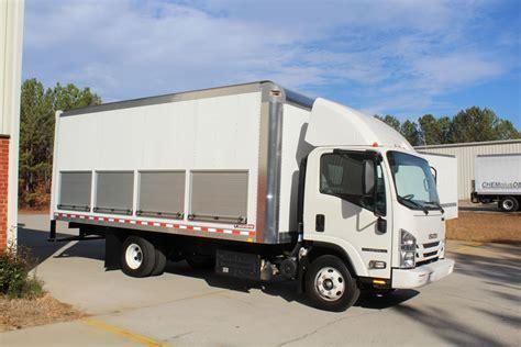 isuzu roll  side box doors american custom design vehicles