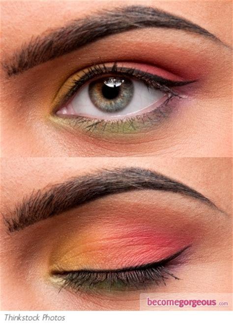 pictures eye makeup ideas rainbow eye makeup