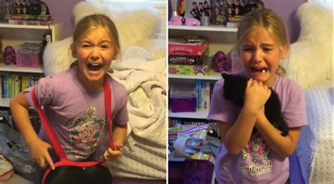 mom tells her daughter there s a surprise in her room her reaction has me crying with her