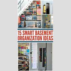 Tips For An Organized Basement  Organization Basement