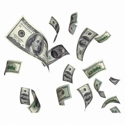 Dollar Flying Money Transparent