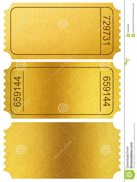 gold  stubs isolated  white  clipping path