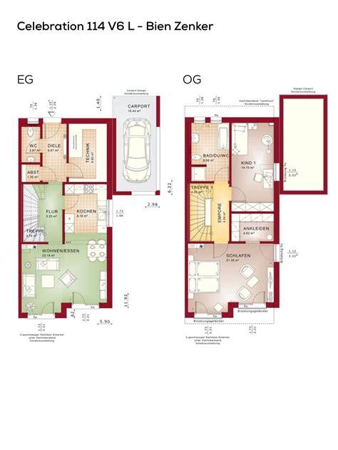schmale häuser grundrisse doppelhaush 228 lfte grundriss schmal mit pultdach architektur