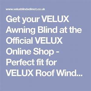 Velux Online Shop : get your velux awning blind at the official velux online ~ A.2002-acura-tl-radio.info Haus und Dekorationen