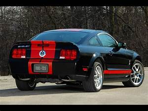 Black muscle cars Ford Shelby stripes Ford Mustang Shelby ...
