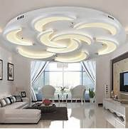 No Ceiling Light In Living Room by Flush Mount Modern Ceiling Light For Living Room Moon Model Acrylic Light Gui