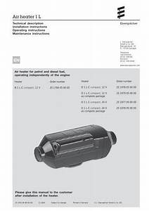 Airtronic D2 Diesel Heater Manual