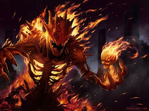 Epic Anime Demons Pyre By Ianllanas On Deviantart