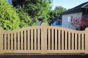 RahmenTor QuotBerlinquot Ab 349EUR Holz Gartentor Mit Stabilem