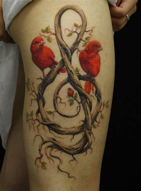 sexiest thigh tattoos  women