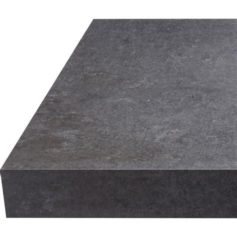 plan de travail bureau leroy merlin plan de travail droit stratifié béton gris 315 x 65 cm