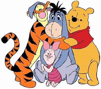 Pooh Friends Clipart Winnie Clip Eeyore Tigger