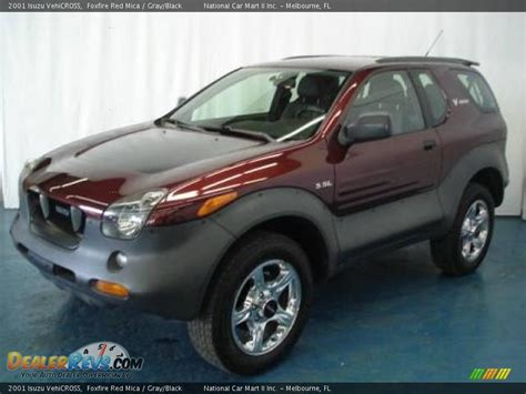 2001 Isuzu Vehicross by 2001 Isuzu Vehicross Foxfire Mica Gray Black Photo