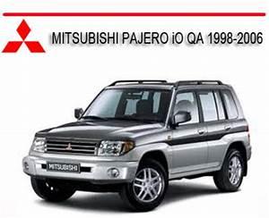 Mitsubishi Pajero Io Qa 1998-2006 Repair Service Manual
