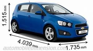 Chevrolet Spark Coffre : dimensions des voitures chevrolet avec longueur largeur et hauteur ~ Medecine-chirurgie-esthetiques.com Avis de Voitures