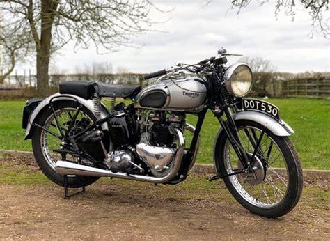 Triumph Tiger 100 by Pre War Triumph Tiger 100 1939 500cc Sold Car And Classic