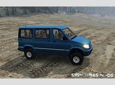 Минивэн УАЗ 3165 Симба для Spin Tires 2015 161215 UAZ