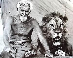 Borne Free Lyon : george adamson with ugas adamson was killed by somali shifta in the kora reserve in north ~ Medecine-chirurgie-esthetiques.com Avis de Voitures