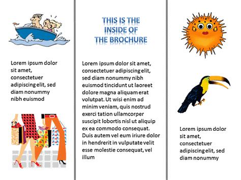 Tri State Lesson Plan Template by Tri Fold Brochure Template K 5 Computer Lab Technology