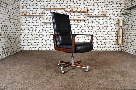 fauteuil de bureau vintage fauteuil de bureau scandinave en palissandre de arne