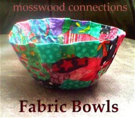 parenting kbn crafts  kids fabric bowls school age