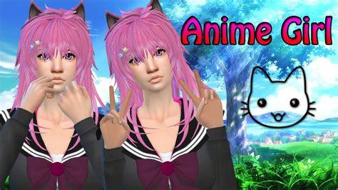 Long Anime Hair Sims 4
