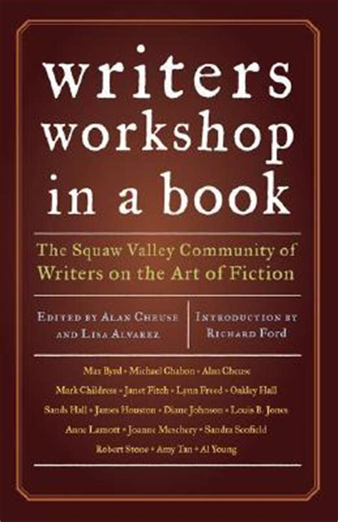 Writer's Workshop In A Book  Richard Ford 9780811858212