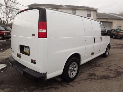 automotive air conditioning repair 1996 gmc savana 1500 on board diagnostic system purchase used gmc savana awd 1500 cargo van all wheel drive rear ac autocheck no reserve