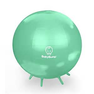 baby bump birth ball with base legs stability balance