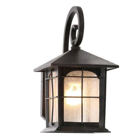 outdoor exterior porch wall 1 light lantern lighting