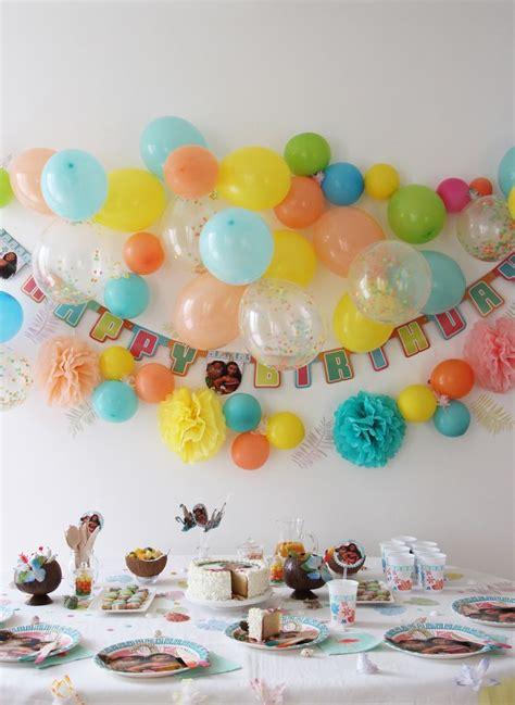 decoration anniversaire vaiana