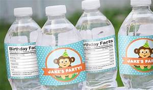 Birthday labels stickeryou products for How to put labels on water bottles