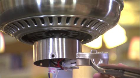 how to install hton bay ceiling fan how to install the hton bay 52 quot cbell ceiling fan