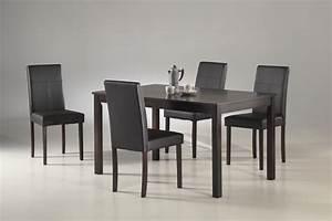Chaise Table A Manger : table et chaise de salle a manger moderne bricolage maison et d coration ~ Teatrodelosmanantiales.com Idées de Décoration