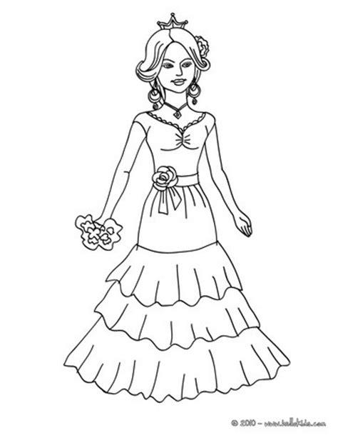 spanish princess coloring pages hellokidscom