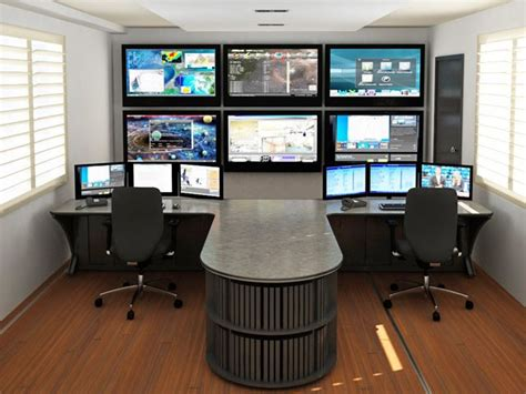 network operation center furniture command consoles