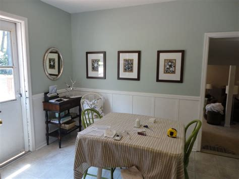 sw quot rainwashed quot for the home dining room paint colors palladian blue rainwashed sherwin