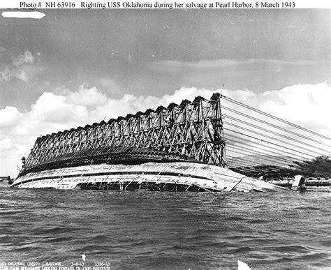 Rebuilt Vs Salvage by Salvage Of Uss Oklahoma 1942 1944