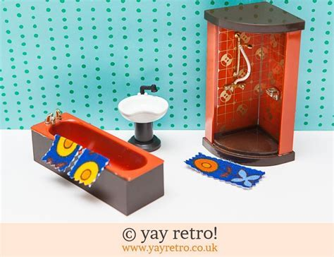 70s Dolls House Bathroom   Vintage Shop, Retro China