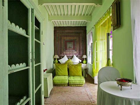 chambre vert anis riad casa lila spa louez le riad casa lila spa à
