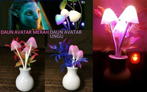 Lu Led Jamur Avatar jual lu tidur jamur avatar sensor cahaya led di lapak