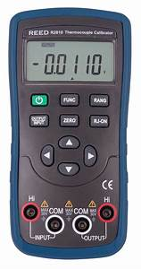 Reed R2810 Thermocouple Calibrator  U2013 Duncan Instruments