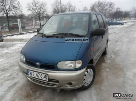nissan serena 2000 2000 nissan serena 7 million osobowy car photo and specs