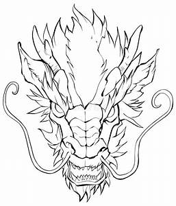 Chinese Dragon Head stock vector. Illustration of clipart ...