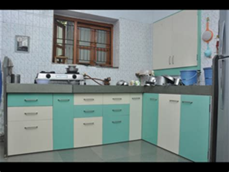 modular pvc designer kitchen furniture  ahmedabad kaka