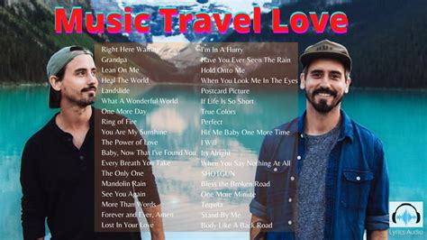 We have the best road trip music. Music Travel Love Playlist 2020 - YouTube