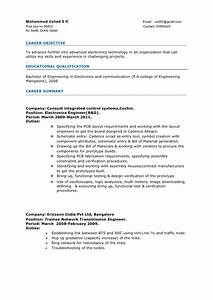 sample resume format for 2 years experience in testing With sample resume for software engineer with 2 years experience