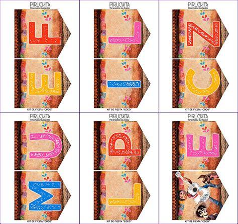 decoracion coco decoraci 243 n fiesta de cumplea 241 os coco para imprimir piruchita