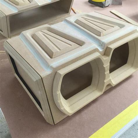 custom subwoofer box design custom fiberglass sub enclosures subwoofers modern car